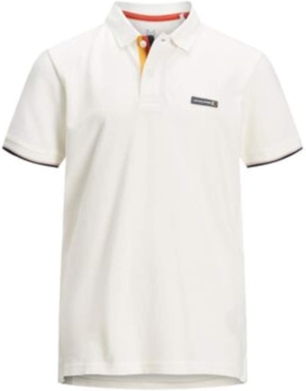 JACK & JONES Summer 2020 - Polo para niño, Color Blanco: Amazon.es ...