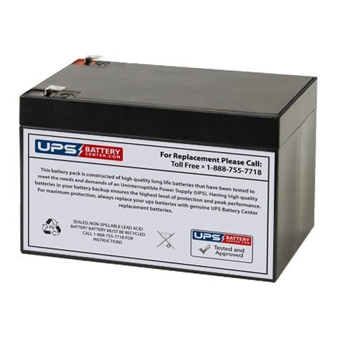 - Universal UB12120 Sealed Lead Acid Replacement Battery (12V, 12Ah, F2 Terminal, AGM, SLA) - Compatible With APC SMART-UPS 1000, Razor MX500 Dirt Rocket, MX650 Dirt Rocket, APC BACK-UPS 650, RBC6, RBC4