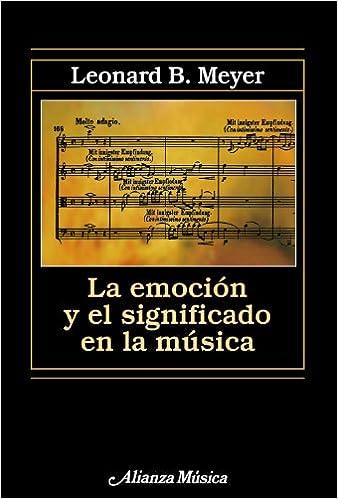 Emocion Y Significado En La Musica Emotion And Significance In