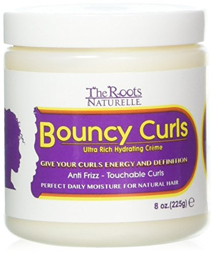 The Roots Naturelle Curly Hair Products Bouncy Curls . Moist