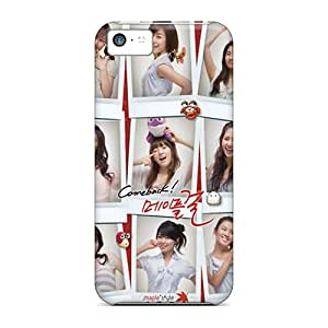 Protective Tpu Case With Fashion Design For Iphone 5c (snsd)