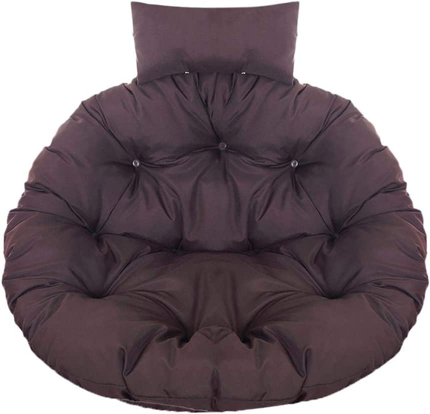 violet, diam/ètre 110 cm coussin de chaise suspendu avec appui//coussin et housse de coussin Coussin de chaise balan/çoire rond en rotin