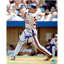 Autograph Warehouse 5522 Larry Walker Autographed 8 x 10 Photo Montreal Expos From His First Ever Private Signing September 2010