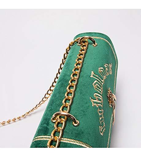 Crossbody Smerigliato Femminile Moda Bag nbsp;a3 Ricamo Selvaggia Quadrato Sacchetto Semplice Hxkb Piccolo Borsa nbsp; SRdwS0