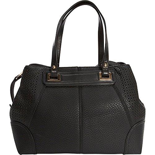sondra-roberts-perforated-nappa-satchel-black