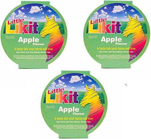 51Cuw75F1FL - Little Likit Refill Equine Treats - Apple (3 Pack)