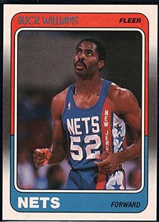 249299a05 Amazon.com  Basketball NBA 1988-89 Fleer  79 Buck Williams NJ Nets ...