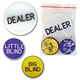 Trademark Poker Dealer Button Set