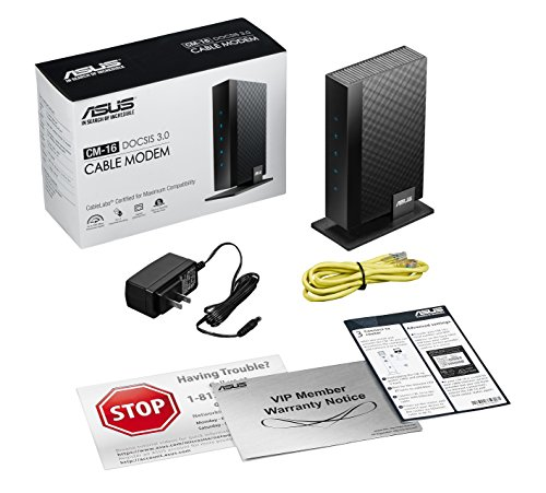 ASUS DOCSIS 3.0 High Speed 16 X 4 Cable Modem, Max