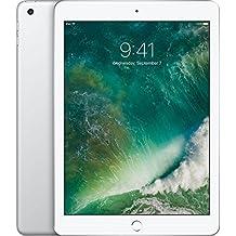 Apple iPad with WiFi, 128GB, Silver (2017 Model)