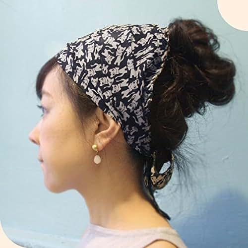 head scarf cats