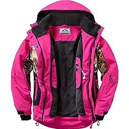 Legendary Whitetails Women\'s Polar Trail Pro Series Jacket Rose Small