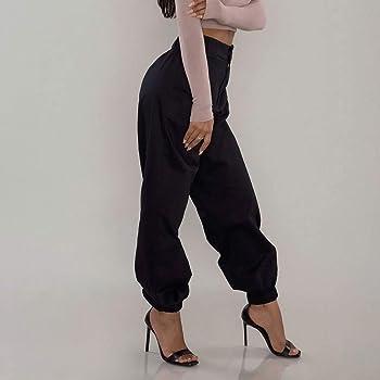 Prironde Women Leggings Easter Rabbit Retro Pattern 3//4 Yoga Pants High Waist Trousers Workout
