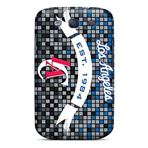 Anti-Scratch Hard Phone Cover For Samsung Galaxy S3 (lOl11158nxhM) Provide Private Custom HD Los Angeles Clippers Pattern