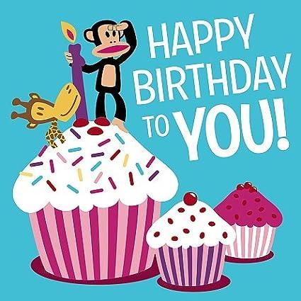 Paul Frank Tarjeta de felicitaciones - feliz cumpleaños ...