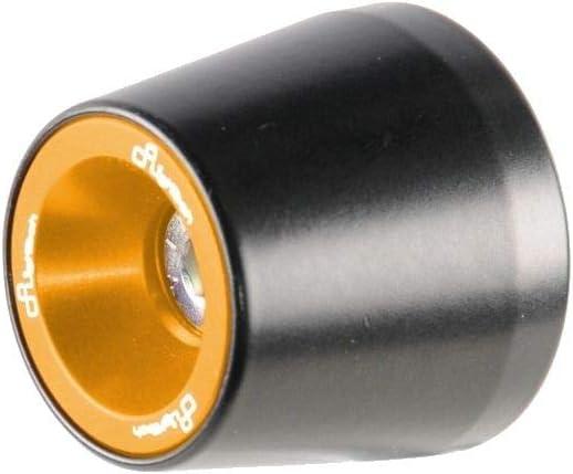 Lightech Dual Color Bar Ends Gold Compatible with 20 BMW S1000RR