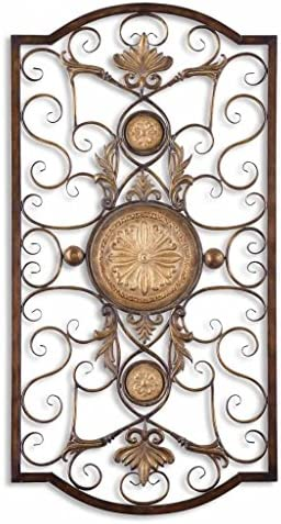 Uttermost Micayla Large Wall Art 1 x 22 x 42, Chestnut Brown