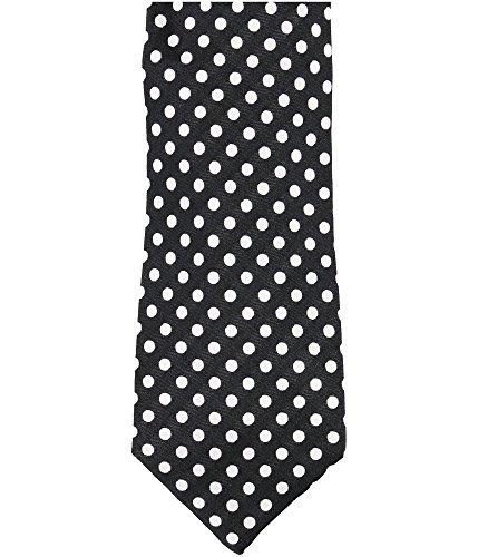 Sean John Mens Polka Dot Necktie Black One Size