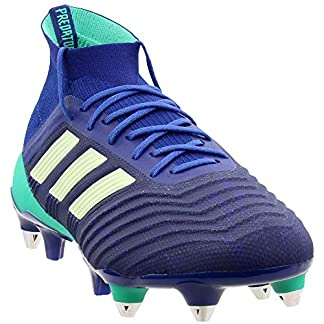 adidas Mens Predator 18.1 Soft Ground Soccer Casual Cleats, Navy, 13.5