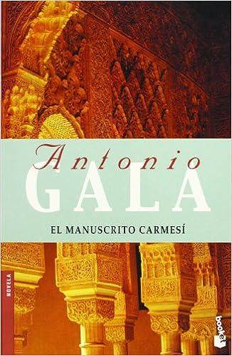 El manuscrito carmesí (Booket Logista): Amazon.es: Gala ...