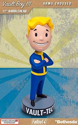 Gaming Heads Fallout 4 Bobble-Head Vault Boy 111 Arms Crossed 30 cm Peluches
