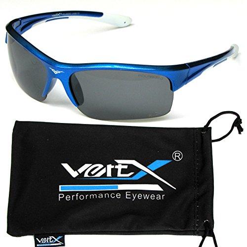 masculine VertX Lentille lunettes nbsp;polarisés nbsp;soleil Cadre et bleu nbsp;Sport de blanc nbsp;châssis nbsp;des nbsp;courseextérieure fumée nbsp;Double nbsp;Cyclisme nbsp;Injection fnndxrWwq
