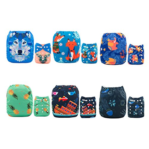 ALVABABY Pocket Washable Reusable Inserts