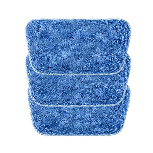iwoly Steam Mop Cleaning Pads 3 Pack Washable Floor Mop Replacement Pads