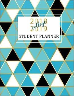 Amazon.com: Student Planner 2018-2019 College: Academic ...