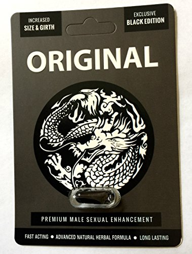 New White Dragon Original Black Male Enhancement Pills for Sex (4) (Enhancement Male Pill Performance)