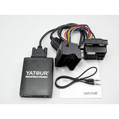 YATOUR - Adattatore Interfaccia USB AUX Lettore MP3 Auto bluetooth per BMW / Mini cooper plug & play