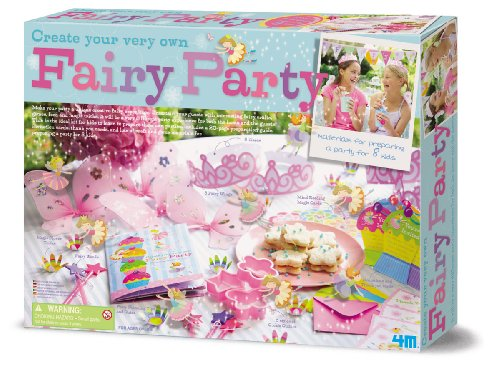 4M Create Your Own Fairy Party -