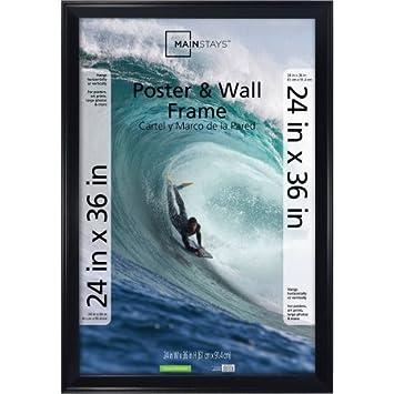 Amazon.com: 24x36 Basic Black Poster Frame: Prints: Posters & Prints