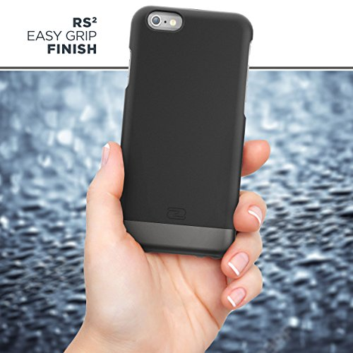 Encased Belt Case iPhone 6/6S, [SlimShield Series] Protective Grip Case with Holster Clip for Apple iPhone 6 (Smooth Black) by Encased (Image #4)