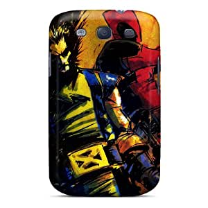 Great Cell-phone Hard Cover For Samsung Galaxy S3 (HpU7016QYfX) Allow Personal Design Colorful Deadpool I4 Image