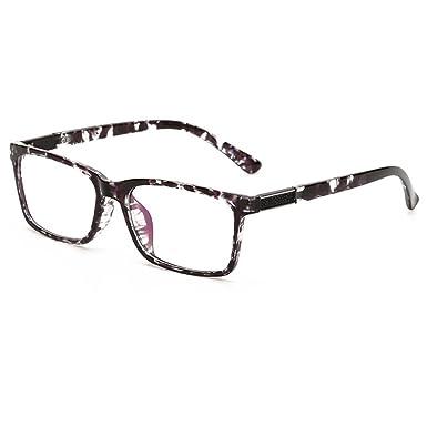 493b77c0bb B07KPLBGL4GRAFIT Unisex(Womens Mens) Optical Frame Classic Fashion Eyewear  Clear Lens Glasses TR90 Material (Black Knurling)(Size  Lens  Width 51MM(2.01 ...