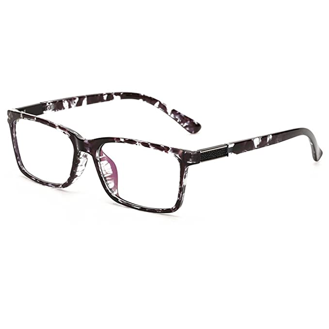 85e32dc22d02 GRAFIT Unisex(Womens Mens) Optical Frame Classic Fashion Eyewear Clear Lens  Glasses TR90 Material (Black Knurling)(Size  Lens Width 51MM(2.01 inches))   ...
