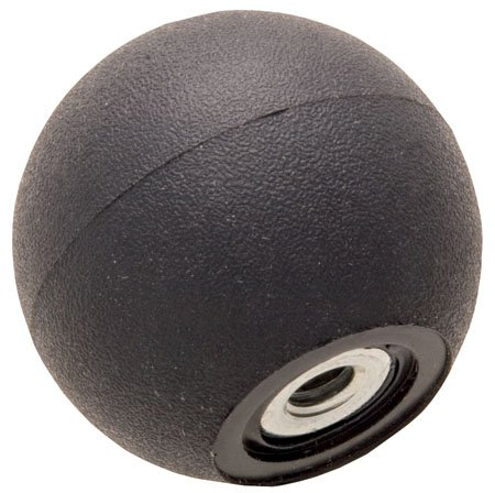 RK-260 Soft-Touch Thermoplastic Ball Knob 1 1/2 Inch Diameter, 5/16-18 thd. ()
