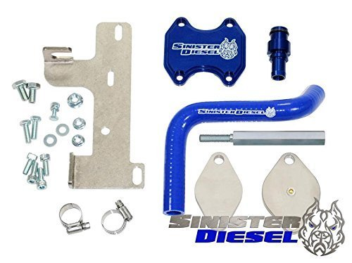 2. Sinister Diesel EGR Cooler Kit for Dodge Ram Cummins 6.7L