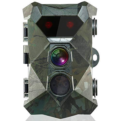 BYbrutek Trail Camera 16MP 1080P Game Camera with Night Vision Motion Activated HD Deer Hunting Wildlife Camera, 850nm IR LEDs Flash Range up to 82ft, 2.4