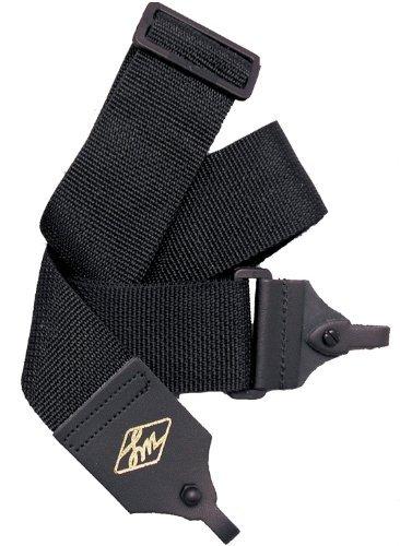 LM Products B1BK 2-Inch Black Poly Banjo Strap