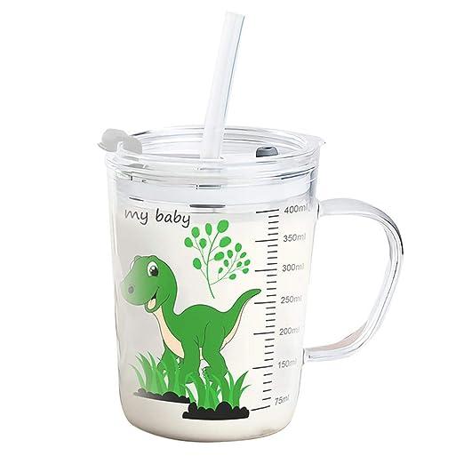 Compra Roebii Vaso medidor de Leche de 450 ml para niños, Vaso ...