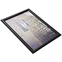 HUAZI Poster Frame Snap Frame 11x17inches Aluminum Wall Diploma Frame for Home Office Market,Black