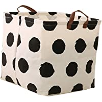 MagiDeal Cute Reusable Square Storage Basket Laundry Bin Home Organiser Clothes Laundry Books Toys Sundries Storage