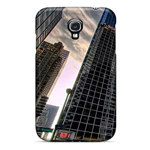 Awesome Design Chicago Skyscrapers Hard Case Cover For Galaxy S4