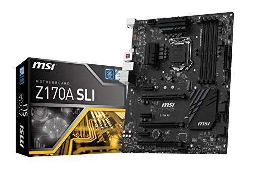 MSI Pro Solution Intel Z170A LGA 1151 DDR4 USB 3.1 ATX Motherboard (Z170A SLI)