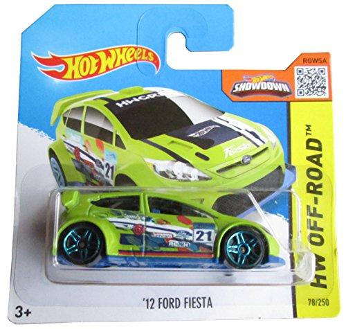 Torque Ford (Hot Wheels HW Off-Road 78/250 Green '12 Ford Fiesta on Short Card)