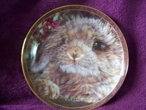 Bradford Exchange 1997 Bunny Tales Collectible Plate ()