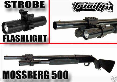 Amazon.com: Tactical Strobe Flashlight, Rifle Weaver Mounted ...