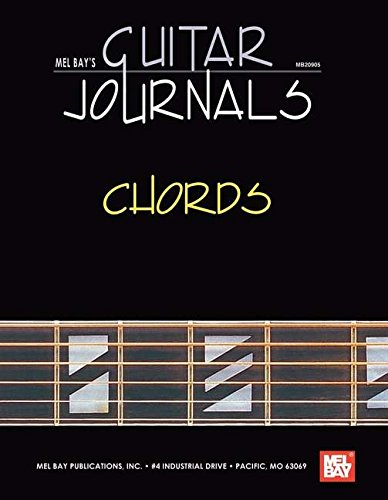 Amazon.com: Mel Bay Guitar Journals - Chords (9780786607228 ...